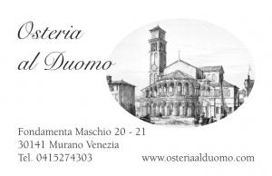 OSTERIA AL DUOMO MURANO