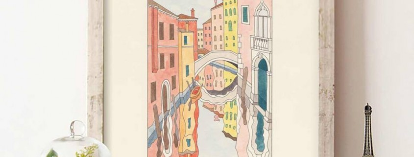 etching in venice